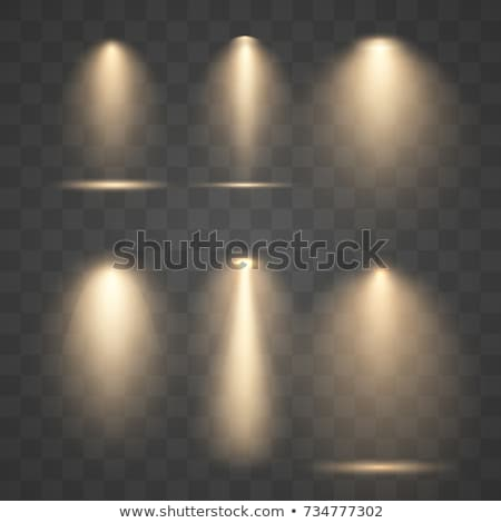 Lighted lamps Stock photo © zzve