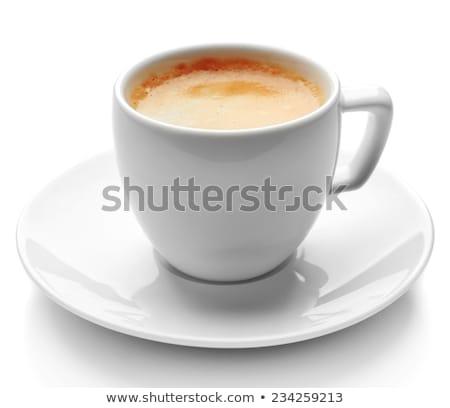 кофе · корицей · деревянный · стол · кофе · шоколадом - Сток-фото © oly5