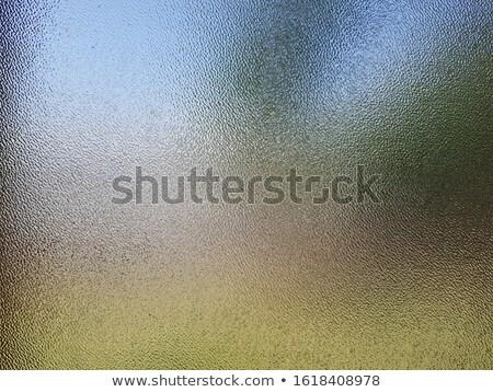 Resumen vidrio alivio primer plano macro ornamento Foto stock © levonarakelian