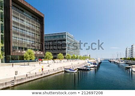 Koppenhága marina tenger óceán utazás csónak Stock fotó © chrisdorney