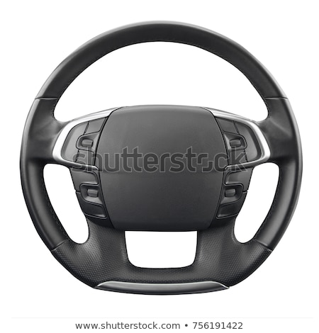 Odizolowany kierownica samochodu biały prędkości narzędzi Zdjęcia stock © shutswis