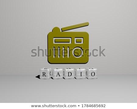 Digital News - Gold 3D Words. Stock photo © tashatuvango