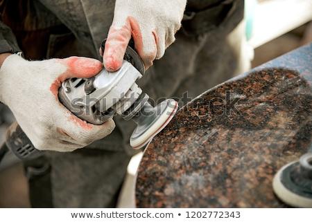 öğütücü · çelik · Bina · inşaat - stok fotoğraf © oleksandro