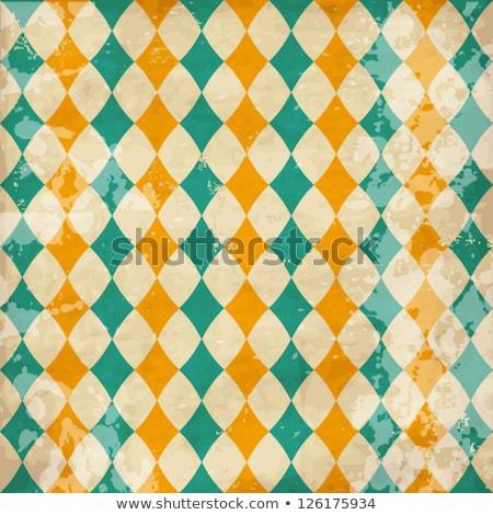 Cute vintage rhombus Stock photo © kali
