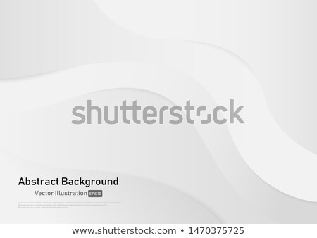 absztrakt · vállalati · kék · szürke · hullámos · vektor - stock fotó © saicle