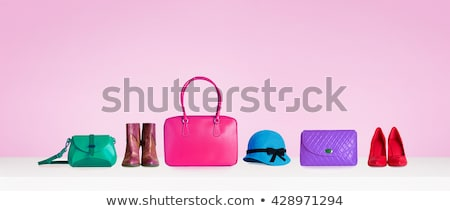 Stock photo: Mix of beautiful vivid accessories