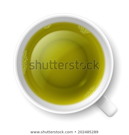 Mug of tea over white Stock photo © lucielang