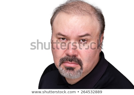 Implacable overbearing middle-aged man Stock photo © ozgur