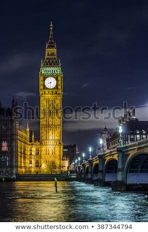 Güzel görmek Big Ben Londra gökyüzü şehir Stok fotoğraf © olly
