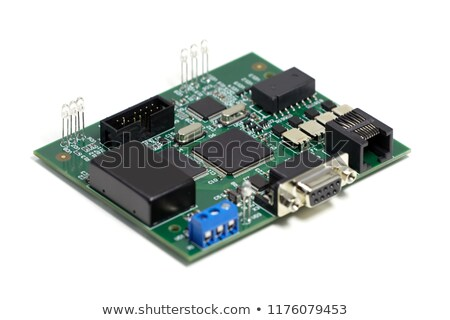 circuit board front view stock photo © vtls