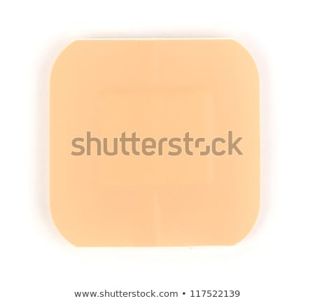 Colorful medical patches isolated on white Stock photo © tetkoren