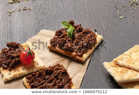 Crispbread and pate  Stock photo © Digifoodstock