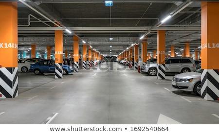 Parkolás garázs autó földalatti belső vásárlás Stock fotó © blasbike