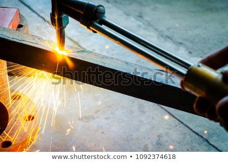 alto · quente · aço · metal · planta - foto stock © mady70