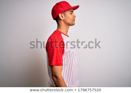 serious young african sportsman posing stock photo © deandrobot