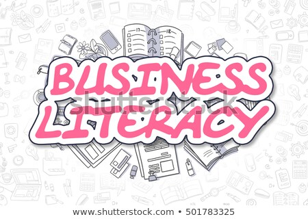 Audit - Doodle Magenta Inscription. Business Concept. Stock photo © tashatuvango