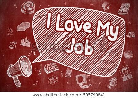 amore · lavoro · uomo · felice - foto d'archivio © tashatuvango
