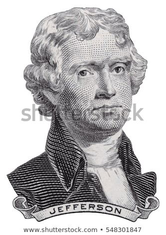 President Thomas Jefferson face on us two dollar bill closeup ma Stock photo © vlad_star