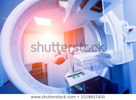 Female patient undergoing an x-ray test Stock photo © wavebreak_media