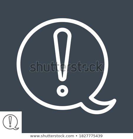 Manual Document file vector icon with info letter. flat sign for mobile concept and web design. Pape Stock photo © kyryloff