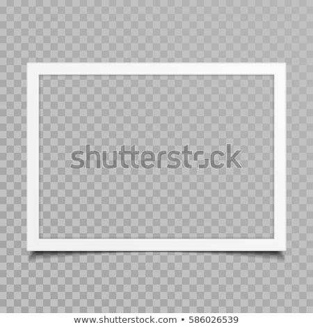 Stock photo: Photo Border Isolated Transparent Background