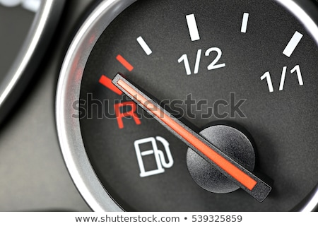 Petrol Gage Empty Stock photo © albund