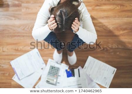 金融 借金 ストレス お金 管理 問題 ストックフォト © Lightsource