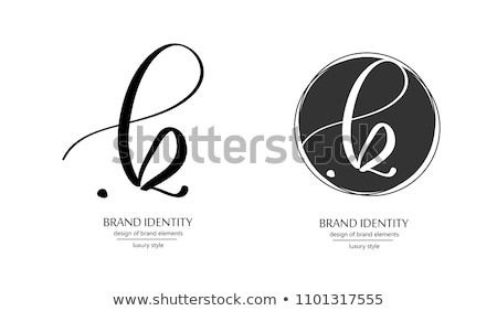 手紙 セット 黒 アイコン ロゴ ベクトル ストックフォト © blaskorizov