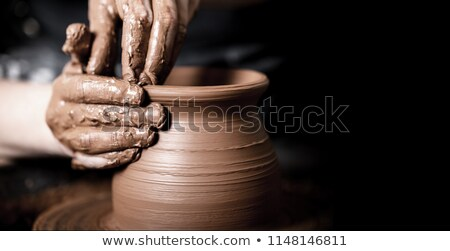 kunst · foto · vrouw · handen · werk · portret - stockfoto © pressmaster