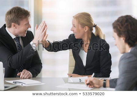 teamwork of business lawyer colleagues consultation and confere stock photo © freedomz