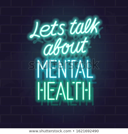 Mental Health Awareness Stock photo © Lightsource