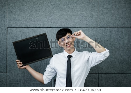 Mężczyzna klasie szkoły student Zdjęcia stock © HighwayStarz