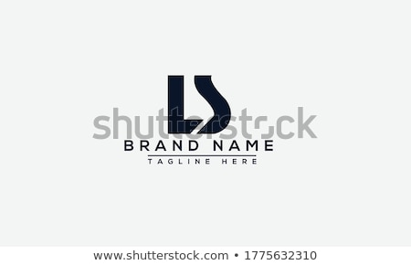 Geometrical Triangle logo design, LS initials. Business Company identity. Stock Vector illustration  Stock photo © kyryloff