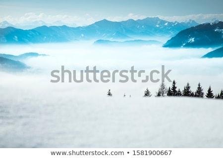 Uzay metin sahne şaşırtıcı dağ görmek Stok fotoğraf © JanPietruszka