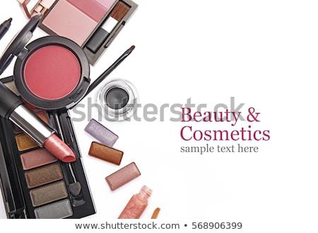 Lápiz de labios aislado blanco belleza textura cosméticos Foto stock © Anneleven