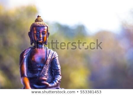repairing Buddha statue Stock photo © koratmember