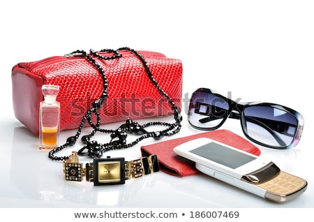 Set of womens accessories Stock photo © jossdiim