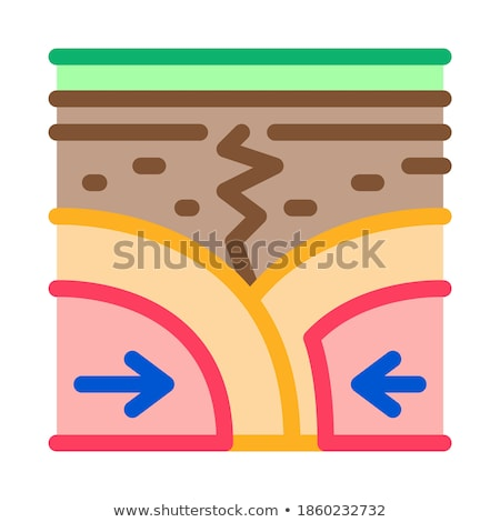 Handelen bodem icon vector schets illustratie Stockfoto © pikepicture