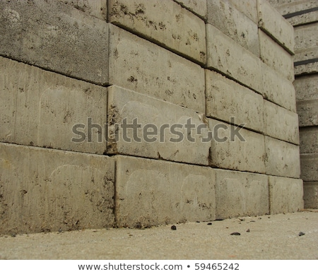 large stack of stappled stone cubic tiles                        Stock photo © Melvin07