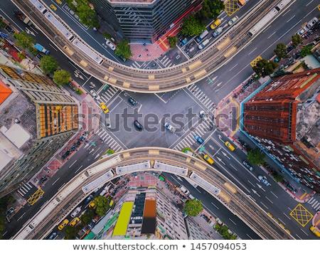 Urbaine trafic voiture ville horloge rue Photo stock © Paha_L