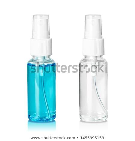 бутылку · духи · спрей · воды · небольшой · прямоугольный - Сток-фото © vichie81