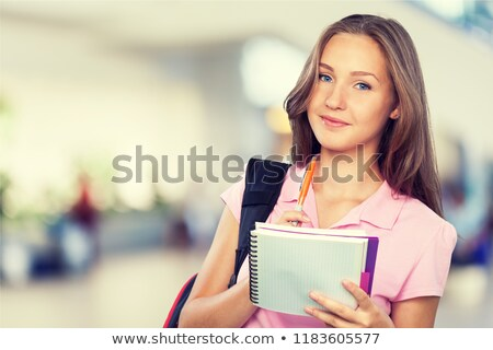 Mixed race ollege student stock photo © aremafoto