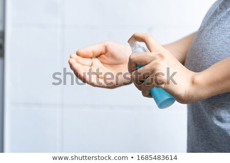 pregnant woman cleaning stock photo © petrmalyshev