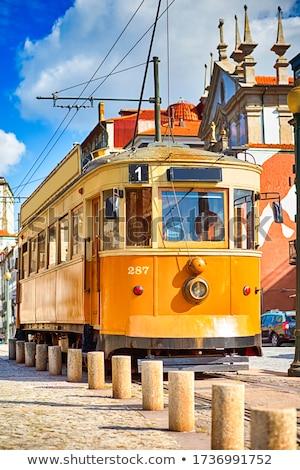 старый город Португалия берег реки небе воды здании Сток-фото © neirfy