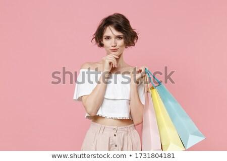若い女の子 女性 女性 ボディ ショッピング ストックフォト © utorro