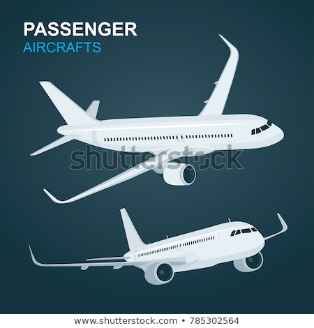 Commersial Jet Airplanes stock photo © Kaludov