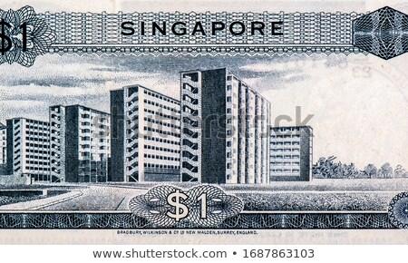 amerikai · száz · dollár · jegyzetek · egy · ház - stock fotó © donskarpo