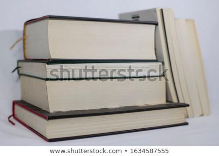 Pochi libri finestra carta Foto d'archivio © vetdoctor