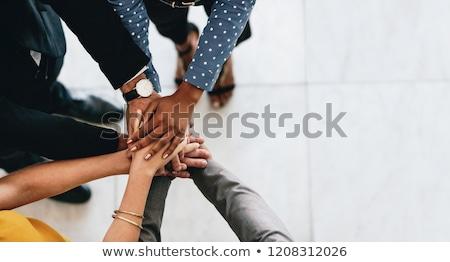 pile of hands Stock photo © Pakhnyushchyy