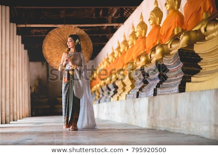 thai religious sculpture Stock photo © smithore
